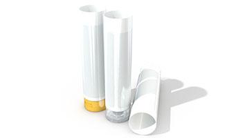 白色標簽塑料軟管