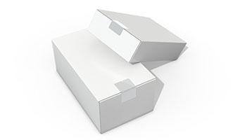 白色小紙盒